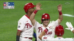 Cubs 6 - Phillies 5