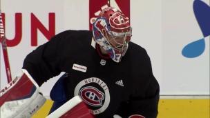 Carey Price de retour sur la glace