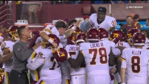 Giants 29 - Washington 30