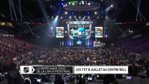 La LNH confirme les dates du repêchage 2022 à Montréal