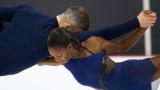 Vanessa James et Eric Radford
