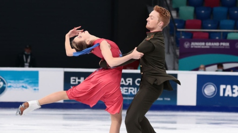 Les danseurs sur glace canadiens quatrièmes