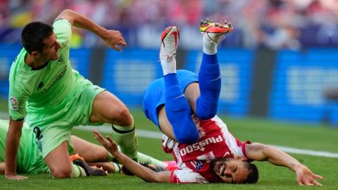 L'Atlético concède le match nul à domicile