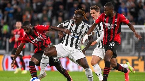 L'AC Milan résiste à la Juventus Turin