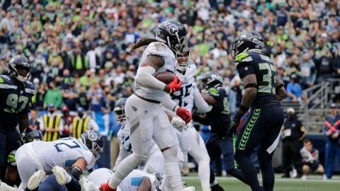 « King Henry » renverse les Seahawks au 4e quart