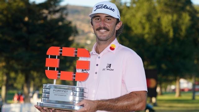 Max Homa savoure un 3e titre sur le circuit PGA
