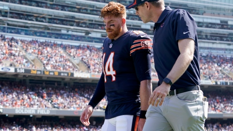En santé, Andy Dalton reste l'homme des Bears