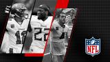 Tom Brady, Derrick Henry et Derek Carr