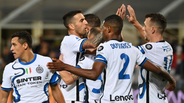 L'Inter renverse Fiorentina en 2e demie