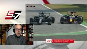 Hamilton et Verstappen à la limite et parfois au-delà