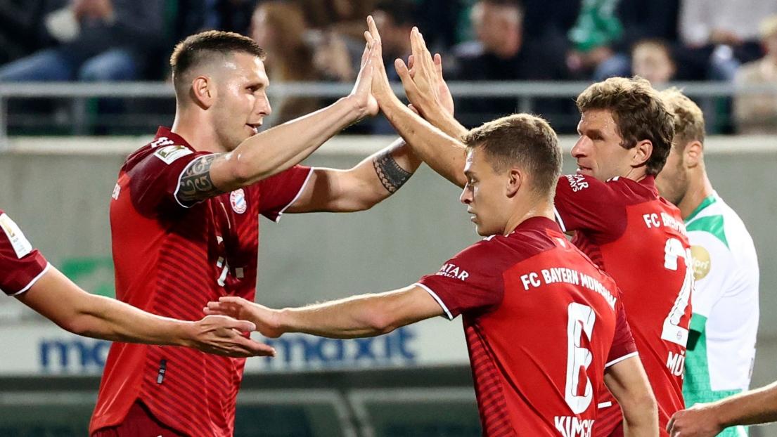 Thomas Müller et ses coéquipiers du Bayern Munich