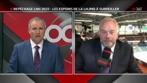 LNH: Premier regard sur le repêchage 2022