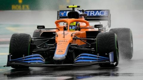 Lando Norris partira premier au GP de Russie