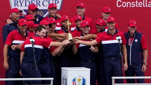 Les Américains remportent la Coupe Ryder pour la 27e fois