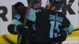Sheahan marque le 1er but du Kraken