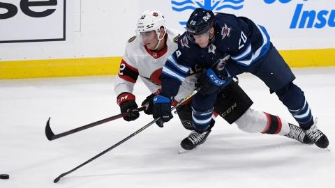 Pinto fait gagner les Sens en prolongation à Winnipeg