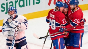 Maple Leafs 2 - Canadiens 5