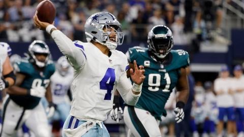 Les Cowboys et Prescott se chargent des Eagles