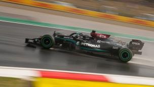 Hamilton le plus rapide, Bottas partira 1er