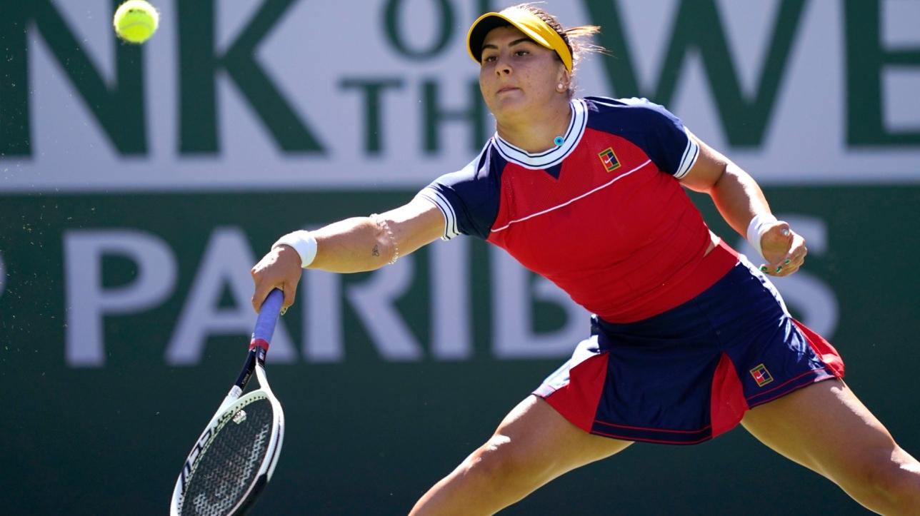 Andreescu s'incline à Indian Wells - RDS