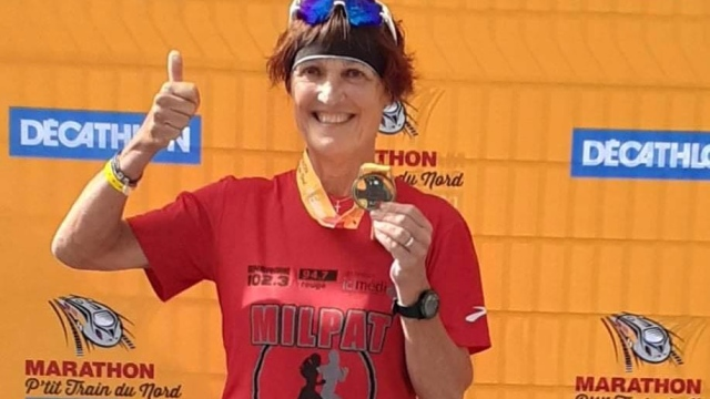 Odette Gélinas veut fuir la maladie...à 65 ans !