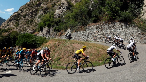 Tour de France : retour à l'Alpe d'Huez pour la Fête nationale