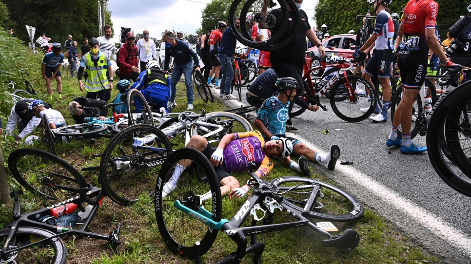 Chute au Tour de France : prison avec sursis pour la spectatrice