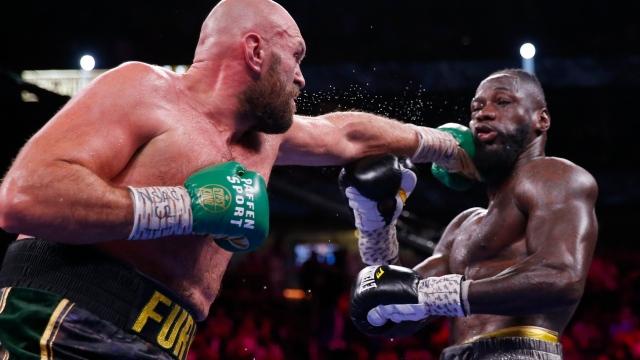 Wilder félicite Fury pour sa victoire