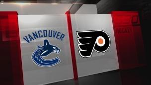 Canucks 5 - Flyers 4 (Tirs de barrage)