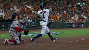 Correa envoie les Astros aux commandes