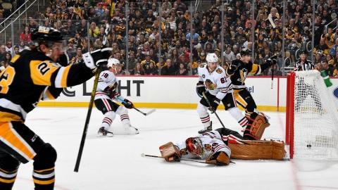 Fleury est encore chassé par les Penguins