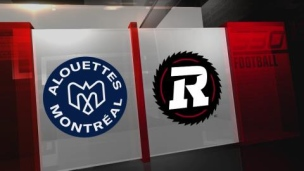 Alouettes 27 - Rouge & Noir 16