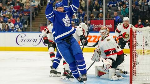 Cette fois-ci, Forsberg n'y pouvait rien face aux Leafs
