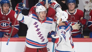 Rangers 3 - Canadiens 1
