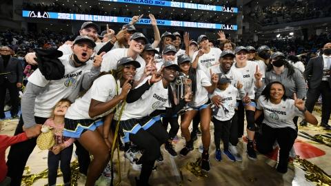 Un 1er titre de la WNBA pour le Sky de Chicago