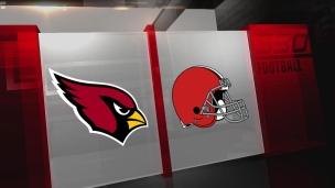 Cardinals 37 - Browns 14