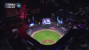 Victoire des Braves! Feux d'artifices pour Atlanta!