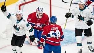 Sharks 5 - Canadiens 0