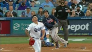 Braves 9 - Dodgers 2