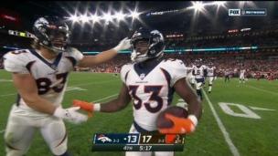 1er touché de Williams, Denver se rapproche