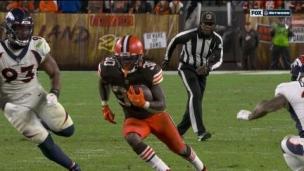 Broncos 14 - Browns 17