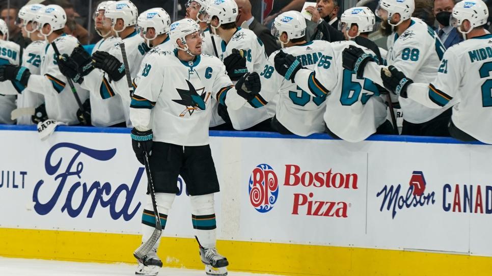 Les Sharks défont les Leafs et restent parfaits