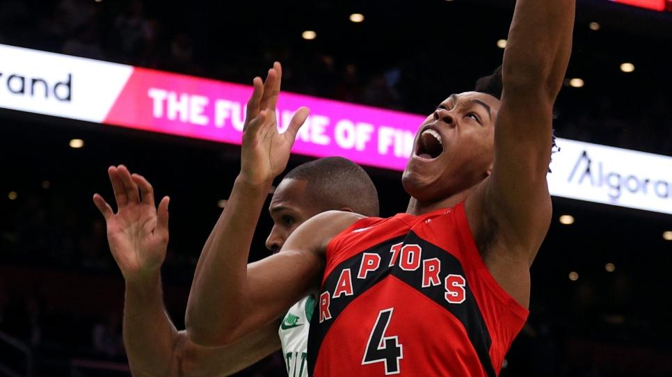 Les Raptors signent un première victoire