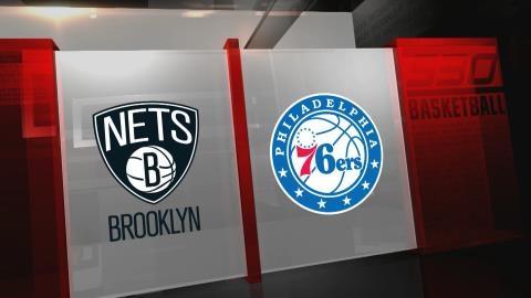 Nets 114 - 76ers 109