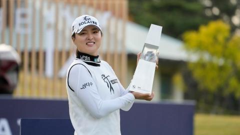 Jin-young Ko triomphe et récupère le 1er rang