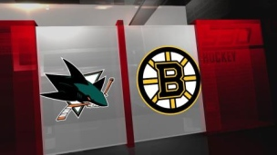 Sharks 3 - Bruins 4