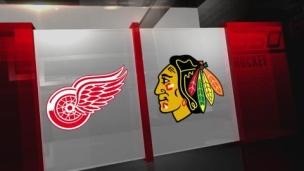 Red Wings 6 - Blackhawks 3