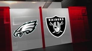 Eagles 22 - Raiders 33