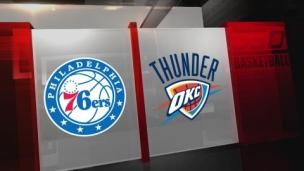 76ers 115 - Thunder 103