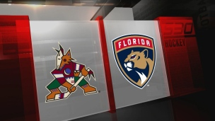Coyotes 3 - Panthers 5
